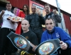 We are ready said some of the Kickboxing Belters outside the ProKick Gym in Belfast ahead of the Brawl on the Wall event
