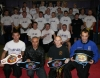 Prokick Gym kickboxing members get behind the Fighters for the Brawl On the Wall