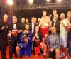 Alexei MAZIKIN ( Ukraine ) wins the Bigger's Better 2 - pictured is all the group players and promoters