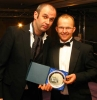 Best Attender was awarded to Colin Malcolm - seen here with Joe Lindsay