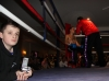 ProKick's Bailie McClinton looks on to the action in the ring on 25th February 2012 in Staines, Essex.