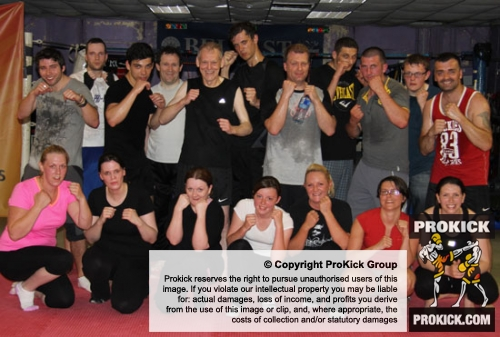 A New fitness class ProKick Style Kicked off at the Kickboxing School of excellence