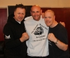 ProKick Head Coach Billy Murray with Grimsby event promoters