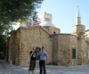 ProKick fighters Darren McMullan and Peter Rusk take in some of the tourist sights of Nicosia.