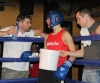 Kilkenny Boxing Academy's Daniel Michalski in his corner with Diarmaid O'Sullivan and the Kilkenny boxing Academy team.
