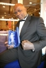 K1 Superstar 'Mr Perfect' Ernesto Hoost with His Lifetime Achievement award presented to him by the Prokick Group