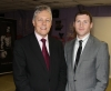 Northern Ireland First Minister Peter Robinson wished East Belfast rising kickboxing star Johnny Smith all the best