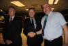 ProKick founder Billy Murray and former Olympian boxer Paul Douglas meet Northern Ireland First Minister Peter Robinson.