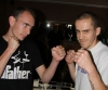 ProKick fighter Davy Foster weighs in for his fight against Julien Aeschilmann
