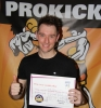 James Hand, New ProKick Yellow Belt.