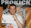 Richard Morrow, New ProKick Yellow Belt.