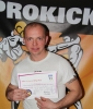 Artur Nowik, New ProKick Yellow Belt.