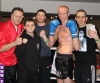 The ProKick team after the dust settled on 25th February 2012 in Staines, Essex.