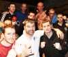 Kilkenny Boxing Academy head coach and event promoter Diarmaid O'Sullivan poses for a shot with the ProKick team