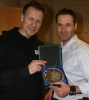 ProKick Kickboxing Instructor of the Year - Eddie Salmon with ProKick's head coach Billy Murray
