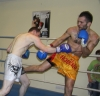 ProKick fighter Johnny Smith in title fight action at the event in Nicosia, Cyprus on 9th March 2012.