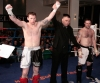 Johnny Smith received the nod from all three judges in his K1 style bout with Joe Harte