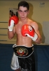 ProKick fighter and new amateur European Champion Karl McBlain after the event in Nicosia, Cyprus on 9th March 2012.