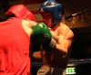 ProKick's Karl McBlain boxing hard towards Kilkenny's Johnny McCabe during their boxing fight in Kilkenny