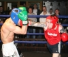 ProKick's Karl McBlain covers up against a hard barrage of blows from Johnny McCabe during their boxing fight in Kilkenny