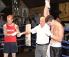 ProKick's Karl McBlain gets the decision against Johnny McCabe after their white collar rules boxing fight in Kilkenny