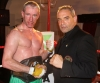 New European Champion Ken Horan with Mr Cris Janson Piers (President of the WFKKO)