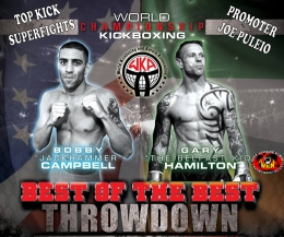 The Show is at the UpSky Hotel NYC that's where the WKN world Champ, Belfast-Boy Gary Hamilton will face a former full-contact world champion Bobby Campbell.