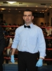 Cypriot WKN Official and referee for the day Mr Socrates Socratous before the event in Nicosia, Cyprus on 9th March 2012.