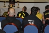 The ProKick team listening to the rules and regulations for the Katana 4 'Bushido' Event