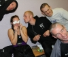 ProKick's mini battler Stefanie McMullen was supported by her team mates after her fight