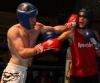 ProKick's Tom McKee landing a hard left hook during his boxing fight in Kilkenny