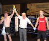 ProKick's Tom McKee wins his first boxing fight in Kilkenny on Sunday 4th December 2011.