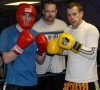 Michael Fear-non was in the ring for sparring at the ProKick gym