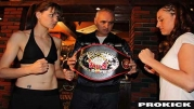 Ursula Agnew Vs Kimberley Dewulf - WKN World Title in Belgium - HD VIDEO