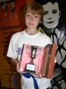 Eleven year old Jordi Fettis is this weeks winner of the Brooklands Cup