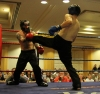 Andrew Mercer In Action against Paddy Sheriff (Wolfpack Kickboxing Athlone)