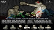 Highlights from the Brawl on the Wall kickboxing event