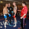 ProKick fighter Darren mcMullan faces off against opponent Barry Haberland from Holland.