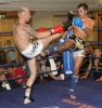 ProKick's Darren McMullan faced up against tough French fighter Alan Castejon for 3 rounds of hard hitting K1 action