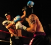 Darren McMullan lands hard right hand