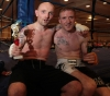 Gary Fullerton post fight with opponent Chris Coyle