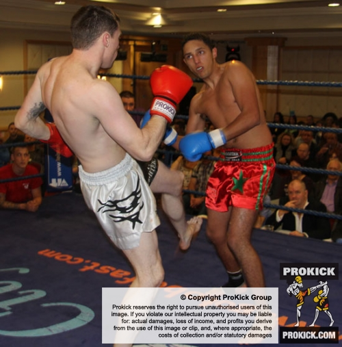 ProKick's Johnny Smith endeavoured to continue his winning form against tough Dutch fighter Aberzak Hasan on ProKick's 'Fright Night' event