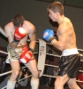 ProKick's Karl McBlain throws some hard punches to Bryan Merrigan