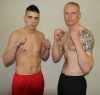 Darren McMullan and Swiss opponent Jeremy Jossi both tip the scales at 78kg