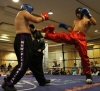 Robert Ferris In Action Against Kris Rakus from (Ken Horan Galway)