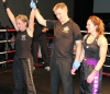 ProKick's Stefanie McMullen narrowly misses out against Yvonne McNevin