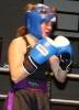 ProKick fighter Stefanie McMullen looking extremely determined