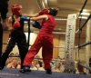 Stefanie McMullen in action against Danielle McLaughlin from Freestyle Dragons Belfast