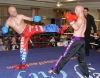 Stuart Jess in action against Daryl Orr (Donegal Black Dragon)