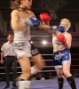 ProKick's Ursula Agnew counters a right hand from Aisling Daly
